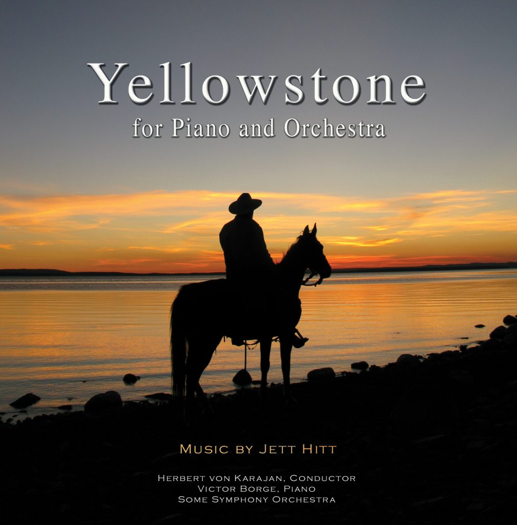 Yellowstone for Piano and Orchestra Cover