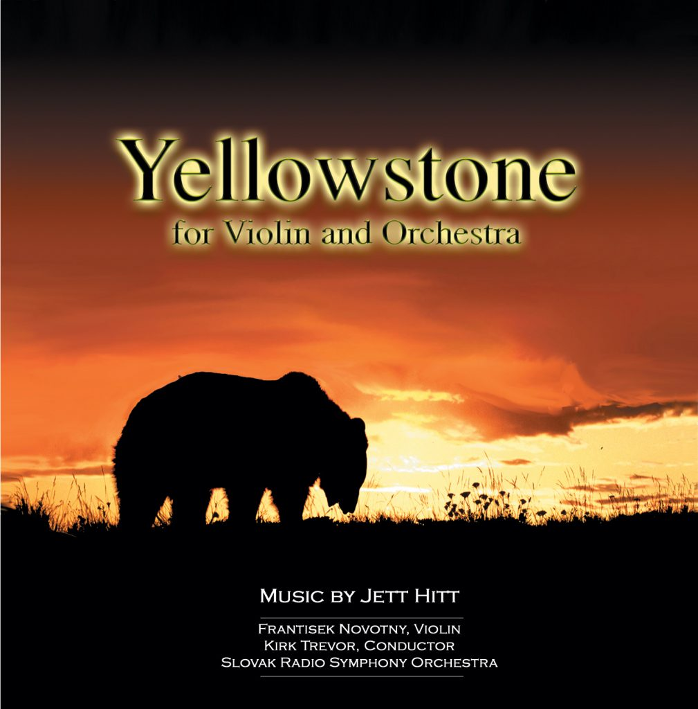 Yellowstone for Violin and Orchestra Cover